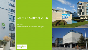innoWerft Start-up Summer 2016
